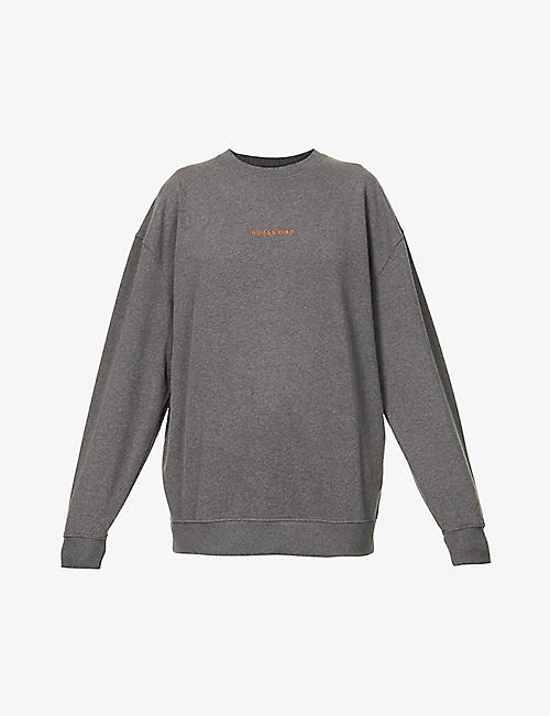 RILEY STUDIO: Human Kind recycled-cotton and polyester-blend sweatshirt