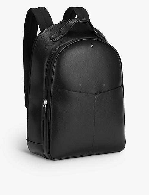 MONTBLANC: Sartorial small two-compartment leather backpack