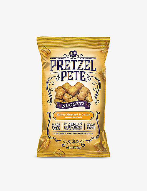 SNACKS: Pretzel Pete Honey Mustard and Onion Nuggets 270g