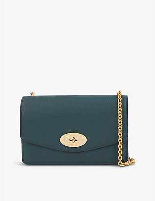 MULBERRY: Darley small leather wallet-on-chain
