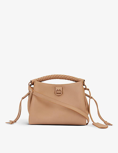 MULBERRY: Iris small leather top handle bag
