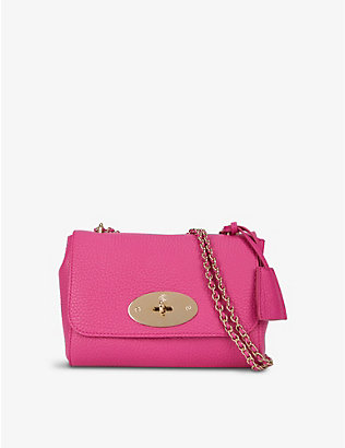 MULBERRY: Lily medium leather shoulder bag