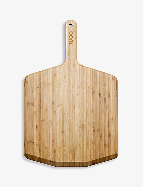 OONI: Bamboo pizza peel and serving board 57.5cm