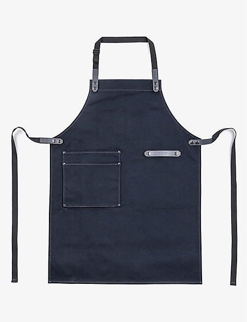 OONI: Pizzaiolo canvas and leather apron