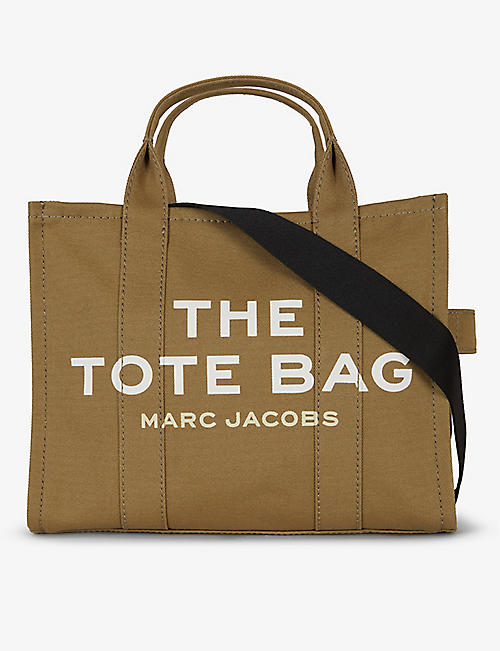 MARC JACOBS: The Tote small cotton-canvas tote bag