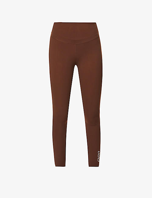 LORNA JANE: Polished high-rise stretch-jersey leggings