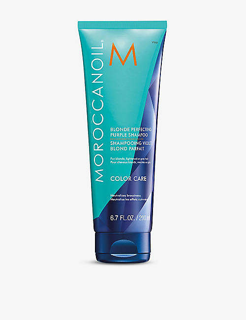 MOROCCANOIL: Blonde Perfecting Purple shampoo 200ml