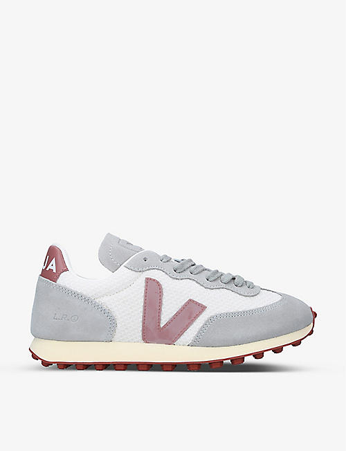 VEJA: Women's Rio Branco mesh and leather trainers