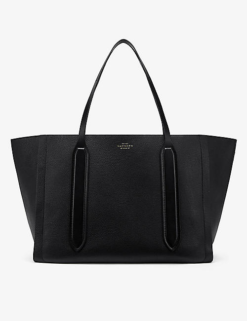 SMYTHSON: Ciappa Ludlow leather tote bag