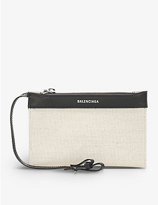 RESELLFRIDGES: Pre-loved Balenciaga canvas pouch