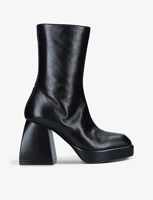 NODALETO: Bulla Corta leather ankle boots