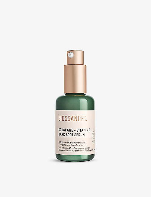 BIOSSANCE: Squalane + Vitamin C Dark Spot serum 30ml