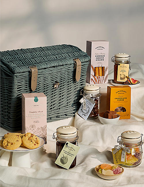 CARTWRIGHT & BUTLER: Mini Picnic Hamper