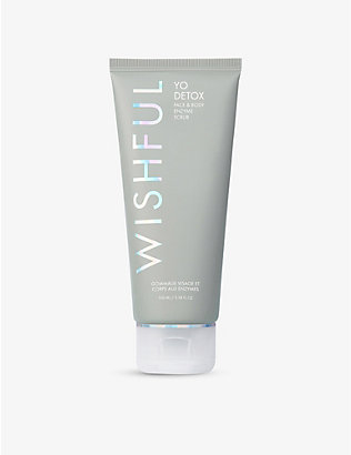 HUDA BEAUTY: WISHFUL Yo Detox Face and Body Enzyme scrub 100ml