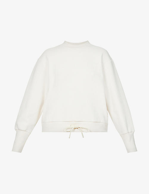 VARLEY: Edith relaxed-fit stretch-cotton sweatshirt