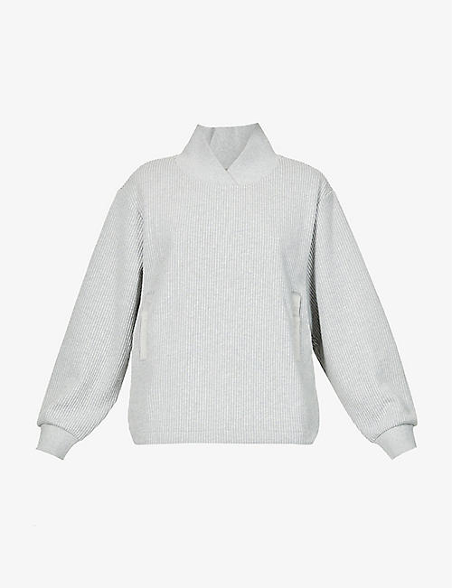VARLEY: Ellington relaxed-fit cotton-blend sweatshirt