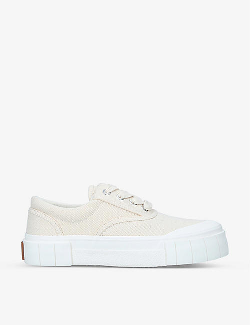 GOOD NEWS: Opal low-top organic-cotton trainers
