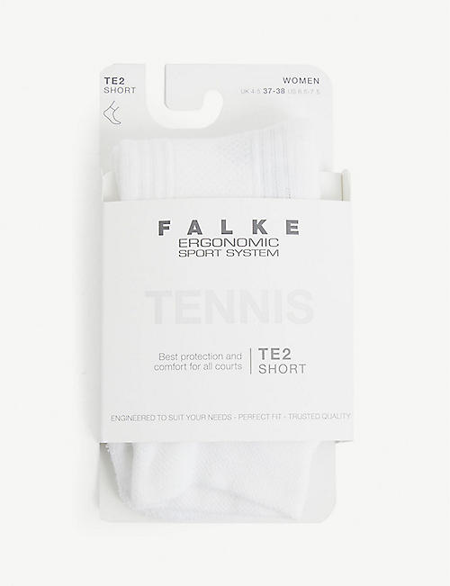 FALKE ERGONOMIC SPORT SYSTEM: TE4 Tennis nylon and cotton-blend socks