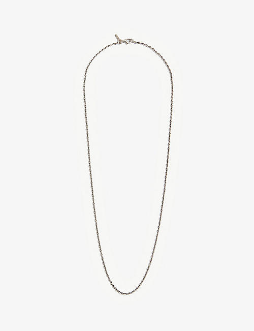 EMANUELE BICOCCHI: Bolt sterling-silver chain necklace