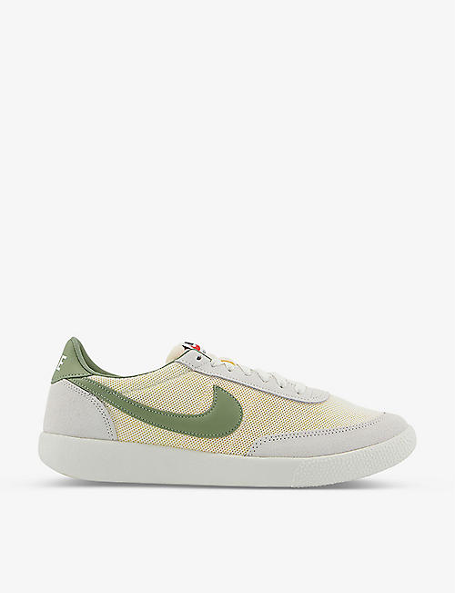 NIKE: Killshot suede and mesh low-top trainers