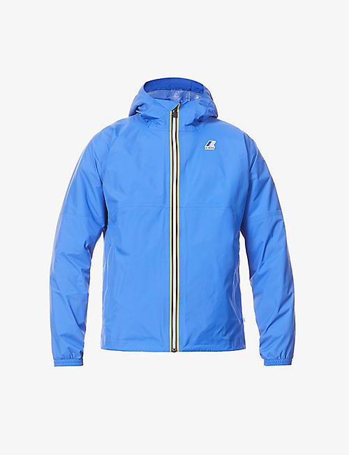 K WAY: Amiable Claude recycled nylon-blend hooded jacket