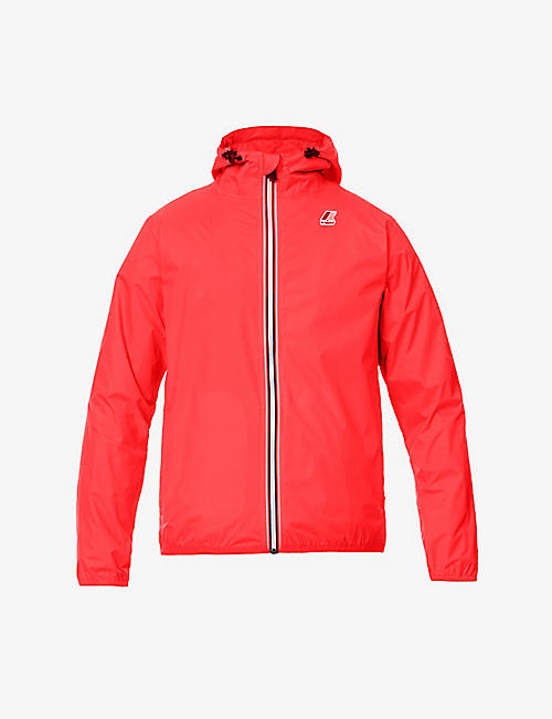 K WAY: Claude shell hooded jacket