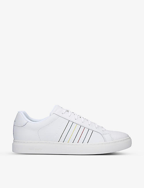 PAUL SMITH: Rex leather low-top trainers