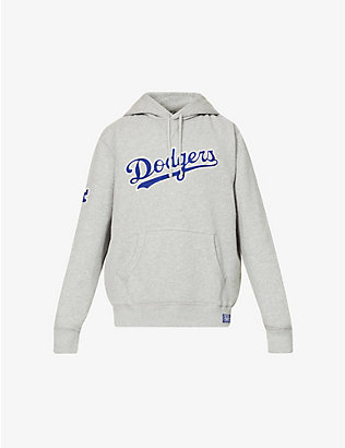 POLO RALPH LAUREN: Polo Ralph Lauren x MLB Dodgers graphic-print cotton-blend jersey hoody