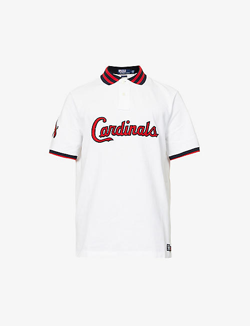 POLO RALPH LAUREN: Polo Ralph Lauren x MLB Cardinals graphic-print cotton-piqué polo shirt