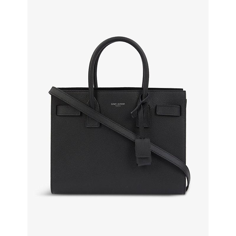 Sac du Jour Baby leather top handle bag