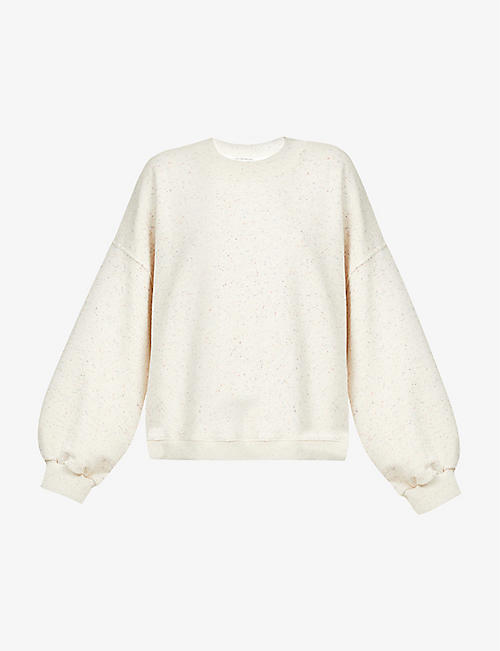 THE ODDER SIDE: Willow relaxed-fit cotton-jersey sweatshirt