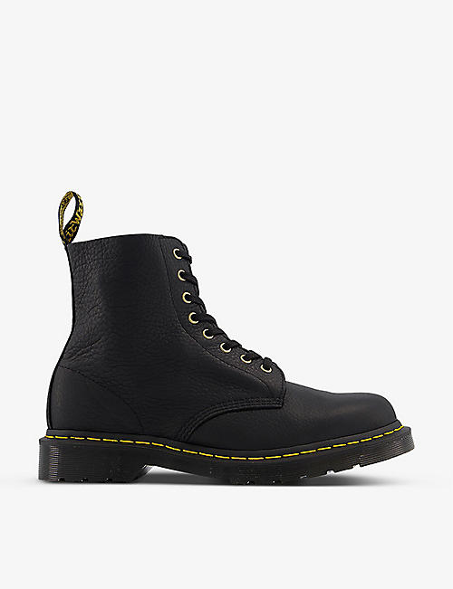 DR. MARTENS: 1460 8-eyelet grained-leather shoes
