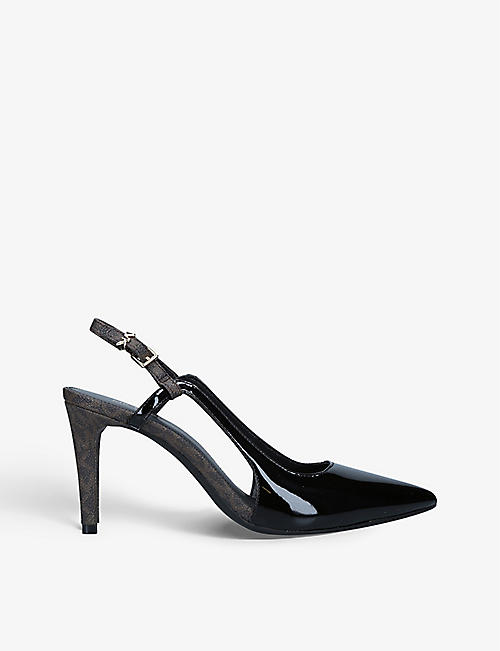 MICHAEL MICHAEL KORS: Vanessa leather slingback courts