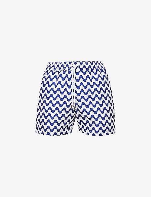 FRESCOBOL CARIOCA: Sport graphic-print regular-fit swim shorts