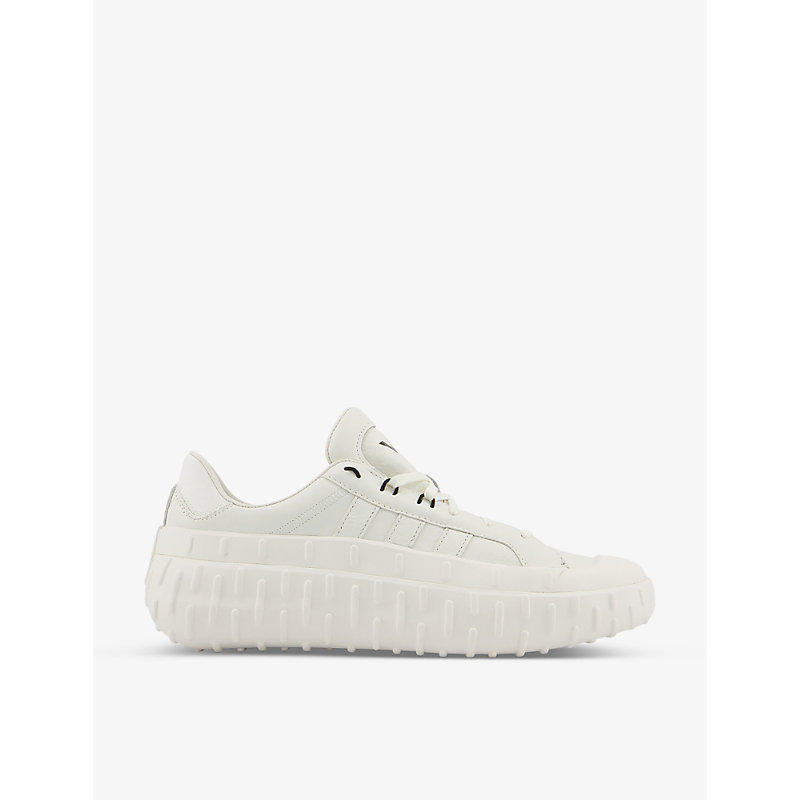 Adidas Y3 Y-3 Gr.1p Low Leather Low-top Trainers