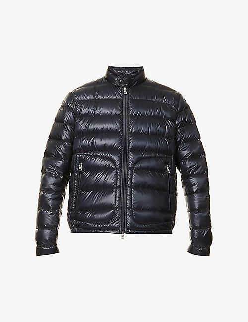 MONCLER: Acorus padded shell-down jacket