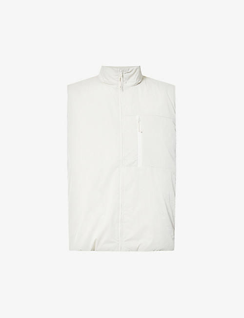 RAINS: Drifter high-neck zip-up shell gilet