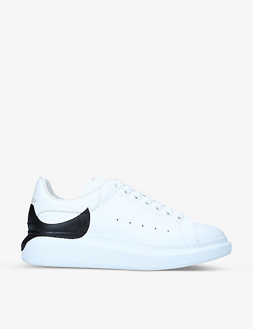 ALEXANDER MCQUEEN: Mens Show leather trainers