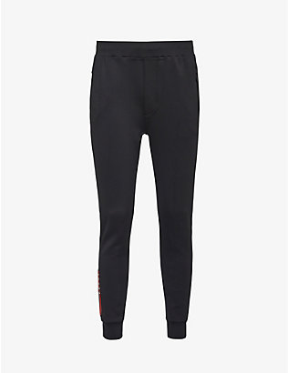 PRADA LINEA ROSSA: Branded recycled polyester-blend jogging bottoms