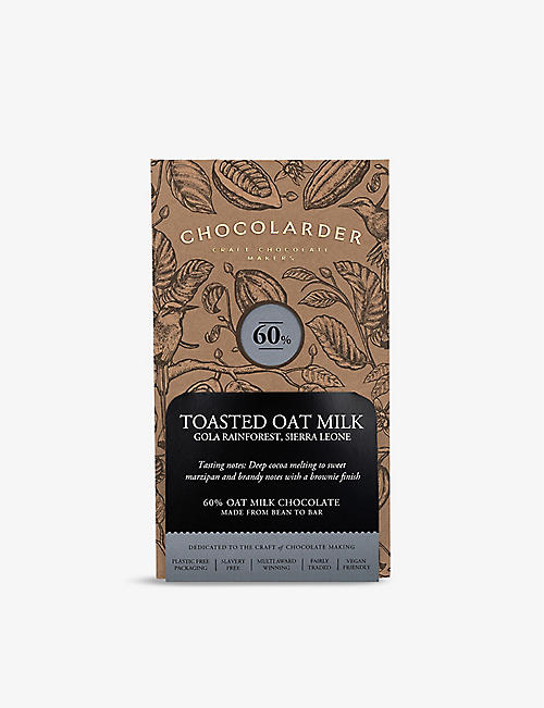 CHOCOLARDER: Gola toasted oat milk chocolate 70g