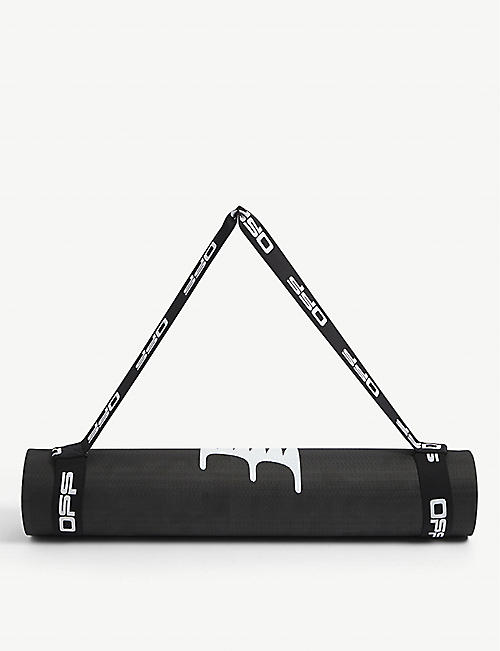 OFF-WHITE C/O VIRGIL ABLOH: Active brand-print yoga mat