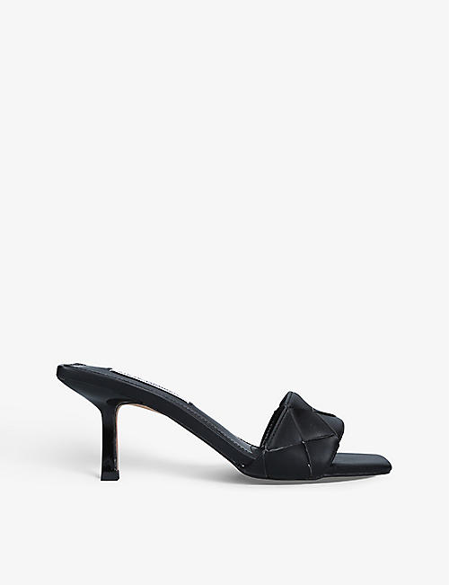STEVE MADDEN: Frenzy faux-leather mules