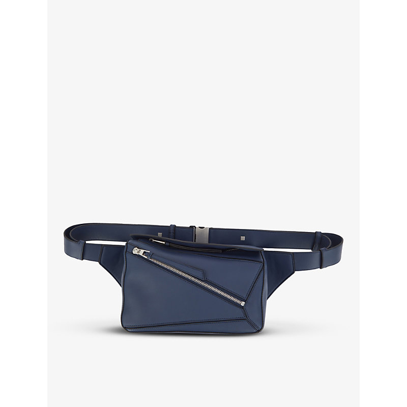 LOEWE PUZZLE SMALL LEATHER BELT BAG