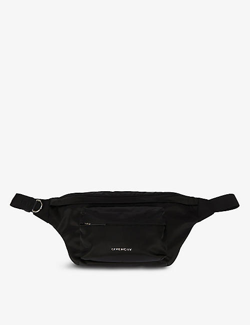GIVENCHY: Essential zipped shell bumbag