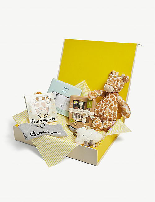 SELFRIDGES: Neutral baby hamper