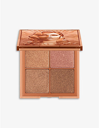 HUDA BEAUTY: Glow Obsession Mini Rich face palette 6.4g