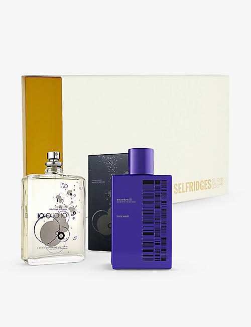 ESCENTRIC MOLECULES: Molecule 01 eau de toilette and body wash gift set