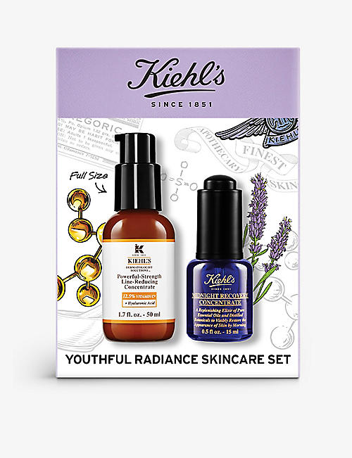 KIEHL'S: Youthful Radiance Skincare gift set