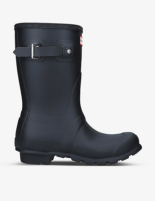 HUNTER: Original Short rubber wellington boots