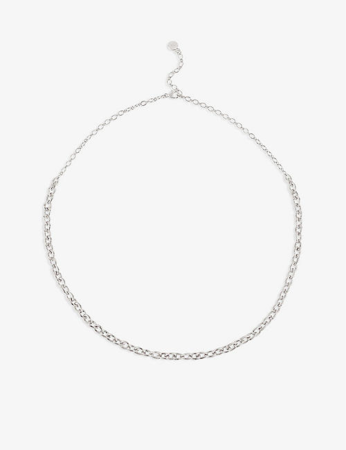 THE ALKEMISTRY: Raindrop sterling-silver necklace